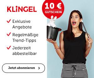 Клингель. Скидка 15 Евро на все товары