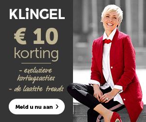€ 10 korting bij Klingel